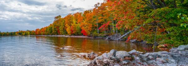 Alger County, Lake Superior - Image via MDOT Photo Unit