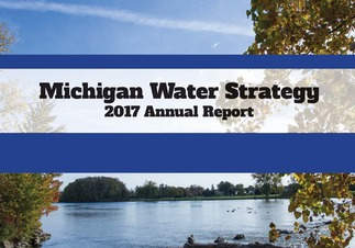 Cover image: Water Strategy 2017 Annual Report (features River Raisin)