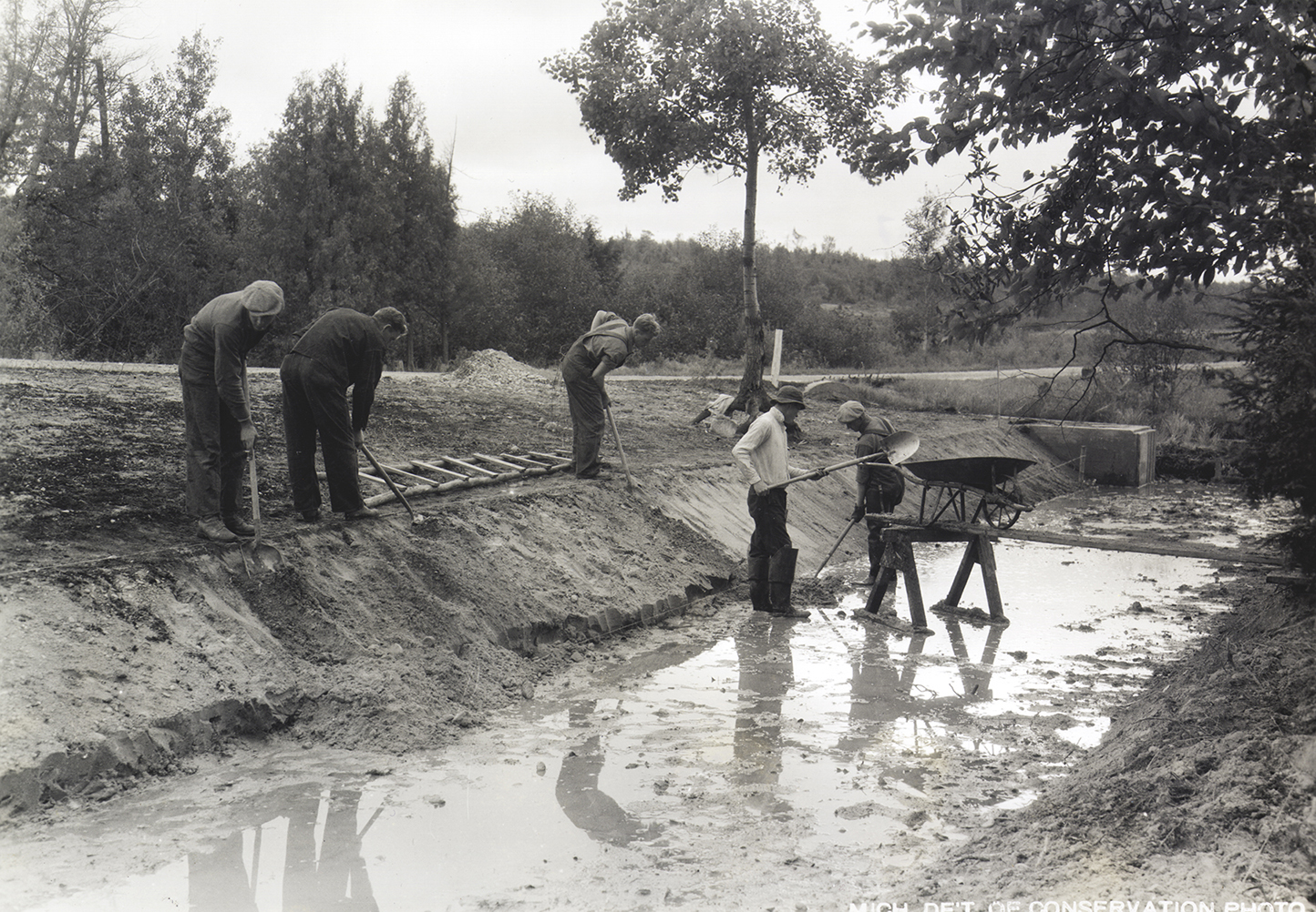 Civilian Conservation Corps crews worked on countless projects across Michigan and the nation during the 1930s.