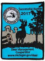 2017 Michigan Deer Patch