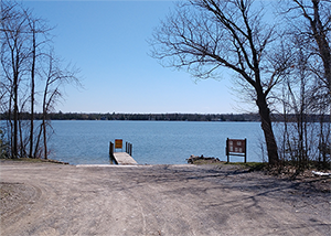 Grand Lake boating access site