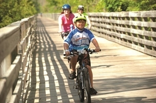 National Trails Day, June 2, is the perfect time to enjoy the state's network of trails. Photo courtesy Michigan Trails and Greenways Alliance.