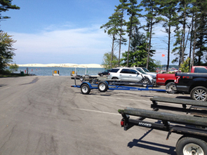 The DNR recently relocated and improved the boat launch at Silver Lake State Park in Oceana County.
