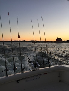 A trip on a charter fishing boat is a great way to spend a day on the water