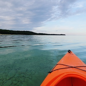 The new Beaver Island water trail provides new paddling adventure for kayakers