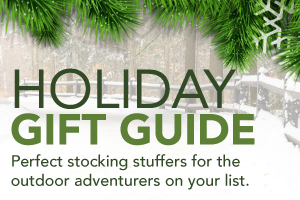 graphic promoting DNR holiday gift guide ideas