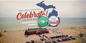 Still frame from state parks centennial video
