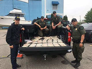 Walleye poaching-Detroit River-May 2018
