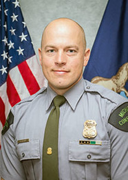 DNR Conservation Officer Kevin Postma