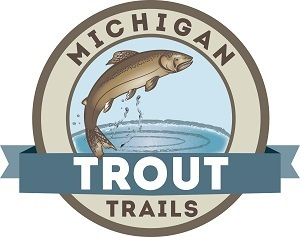 Michigan DNR's Trout Trails web application logo