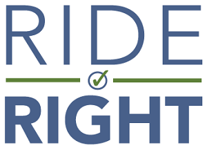 Ride Right campaign graphic