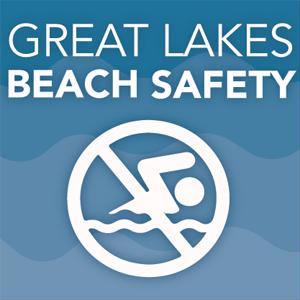 beach safety icon