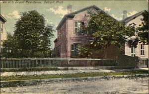 Grant's Detroit Home in 1910