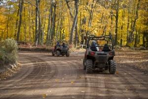 Fall ORV trail riding