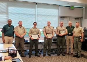 Park rangers lifesaving awards Aug. 8 NRC