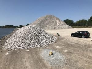 Rock reef restoration - Saginaw Bay