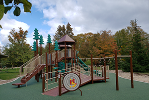 new accessible playground at Leelanau State Park