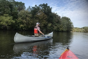 kayaking the Kalamazoo River