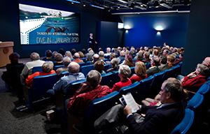Thunder Bay Film Festival attendees in theater