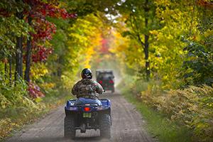 ORV riders on Bill Nicholls Trail