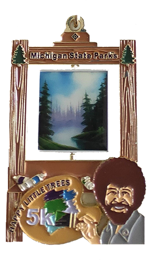 2021 Happy Little Trees medal