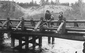 original wood bridge