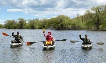 mcd's lifejacket kayak