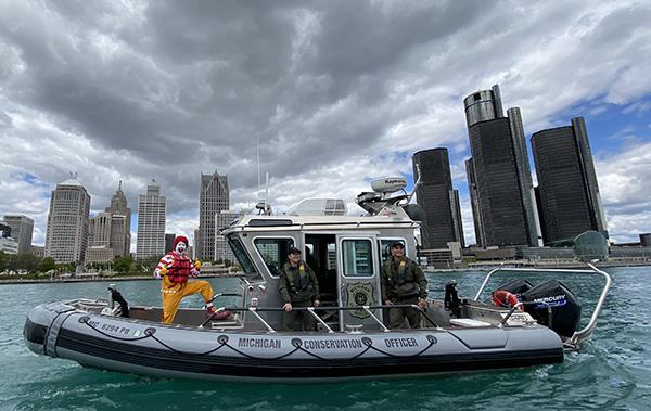 CO patrol boat