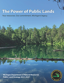 Cover of DNR 2021 public land strategy