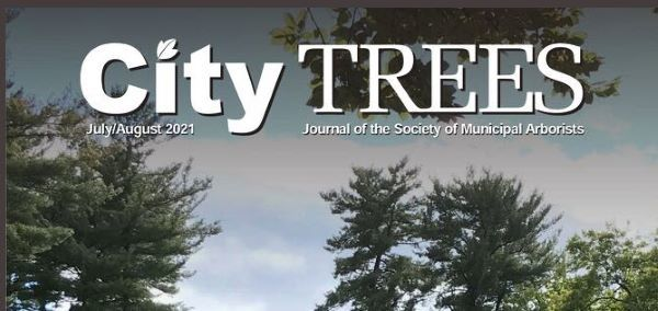 Cover image of City Trees Magazine, the Journal of the Society of Municipal Arborists