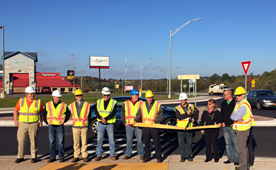 News - Ishpeming roundabouts now open