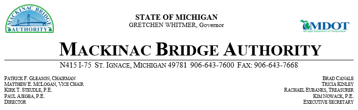 Mackinac Bridge banner 8-12-19