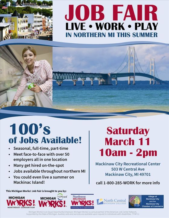 Mackinaw Job Fair