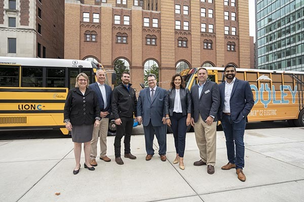 Gov. Whitmer with MAPT partners