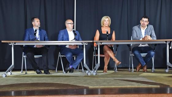 Amanda Roraff SHIFT panel discussion