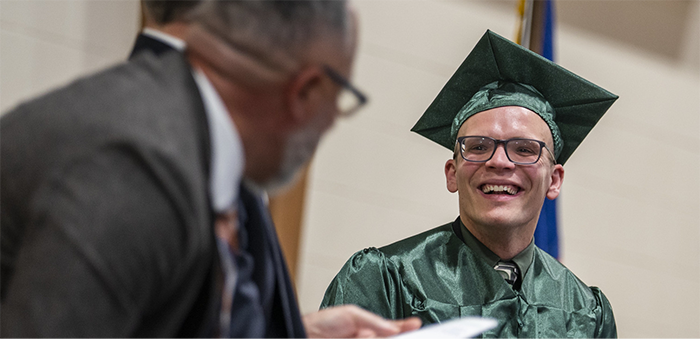 Photo of MCTI graduation ceremony