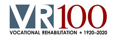 Vocational Rehabilitation 100th Anniversary logo