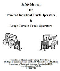 Powered Industrial Truck Manual Image