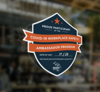 Ambassador program window decal