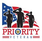 Priority Veteran graphic image