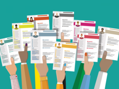 Resume graphic image