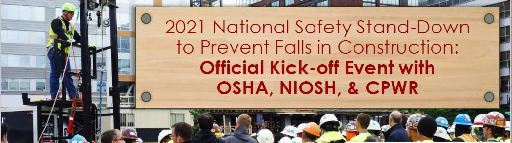 2021 National Safety Stand Down