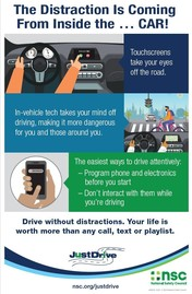 NSC Distracted Driving Month