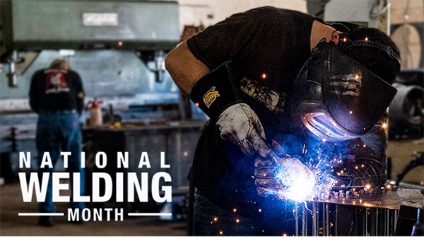 National Welding Month graphic image