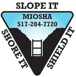 Slope It. Shore It. Shield It. logo