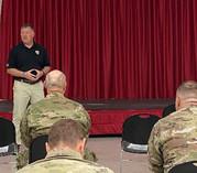 VES advisor speaking to transitioning Veterans