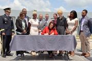 Governor Whitmer signing bills