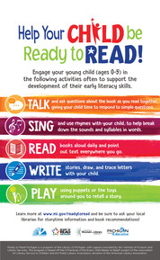Ready to Read Poster