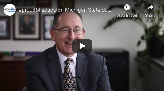 Dr. Rice #proudMIeducator video