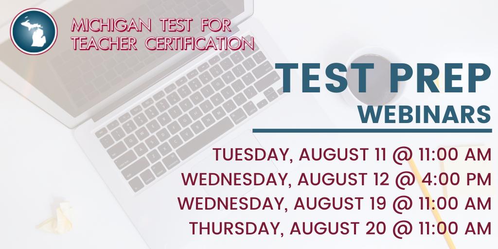 MTTC Test Prep Twitter